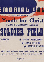 Gallery the greatest youth gathering the 1945 youth for christ letter to chicagoland pastors stopboris Images