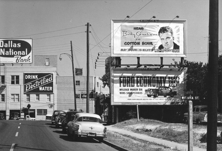 from Photo File: BGEA: Dallas Crusade, 1953