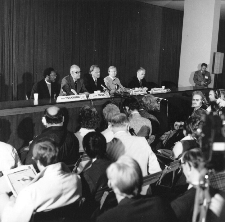 From PF: International Congress on World Evangelization, 1974