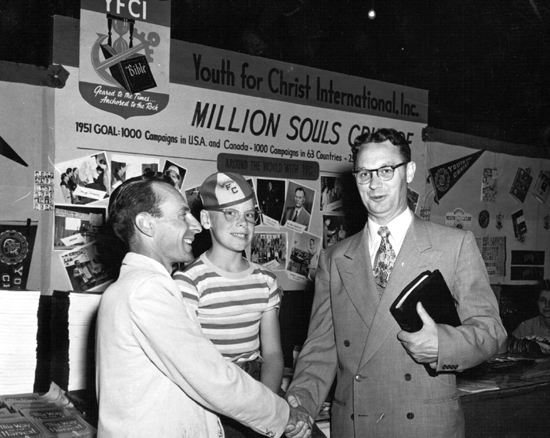 Photo File: Johnson, Torrey M.   Johnson at the 1959 YFC national convention.