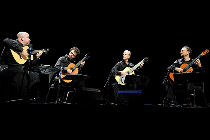 Artist Series Concert: Los Angeles Guitar Quartet