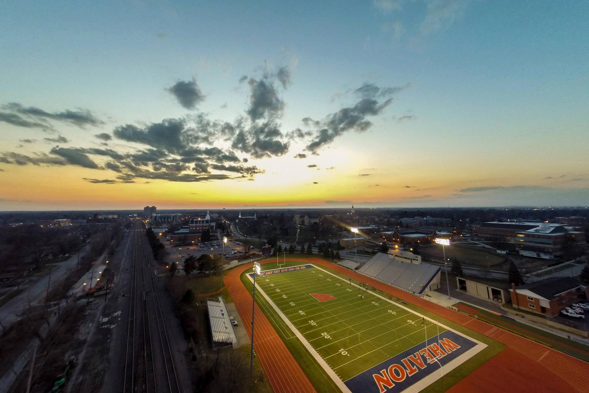 The Don Church Wheaton College Twilight Track Meet