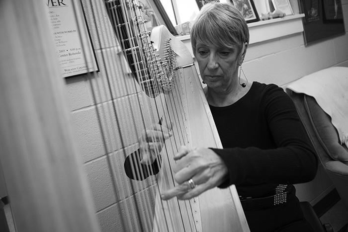 Faculty Recital Series: Pangelic Duo featuring Faye Seeman, harp, and Liam Teague, steelpan