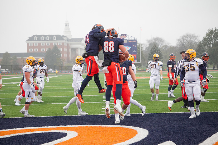 Football Game Vs Millikin University