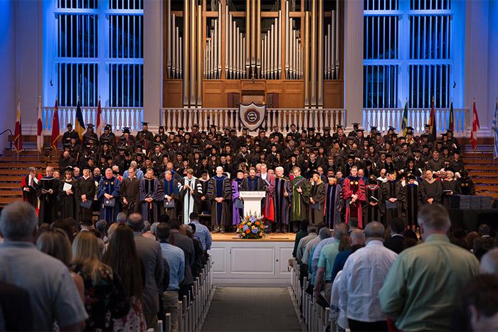 Graduate School Commencement *