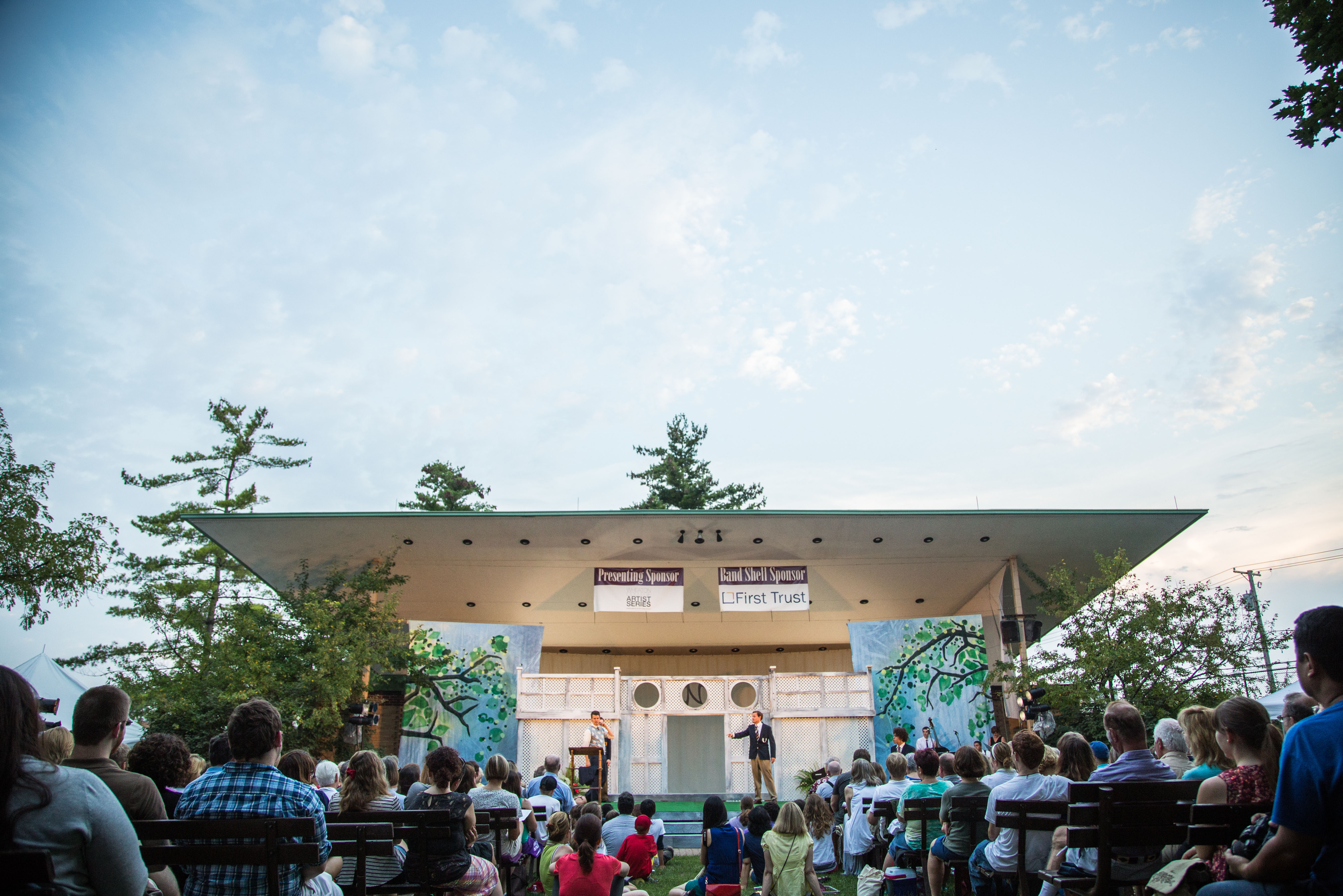 """Arena Theater performs Shakespeare in the Park: """"The Tempest"""""""