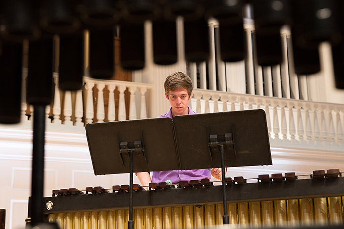 Student Percussion Recital: Nathaniel Holman