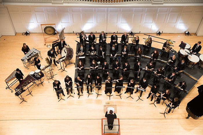Family Weekend Concert with Symphonic Band