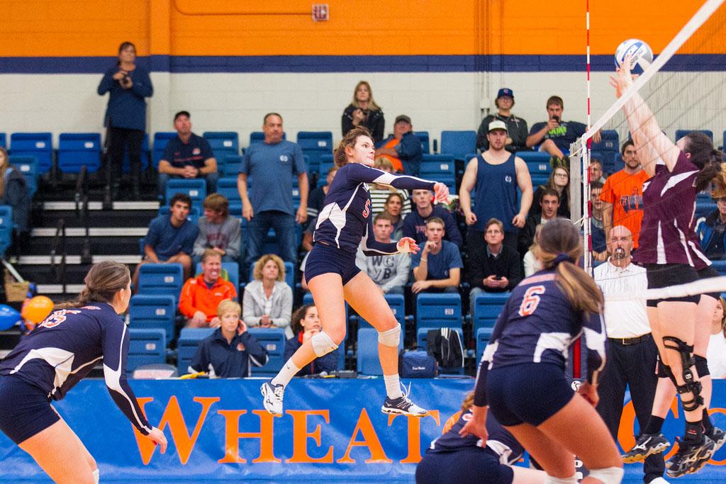 Volleyball Match vs Illinois Wesleyan University